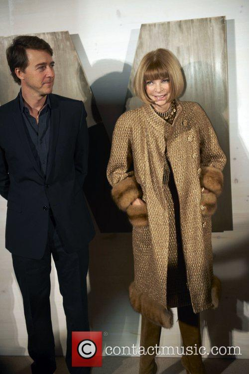 Edward Norton, Anna Wintour and Kathryn Bigelow 1