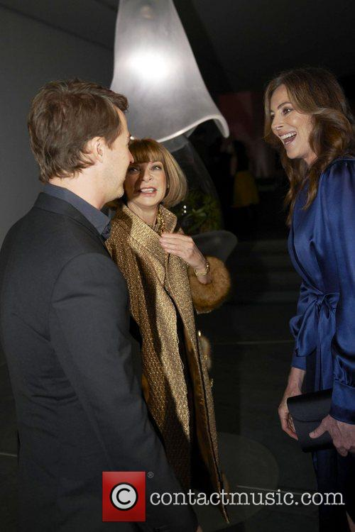Edward Norton, Anna Wintour and Kathryn Bigelow 5