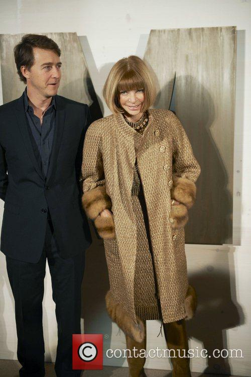 Edward Norton, Anna Wintour and Kathryn Bigelow 3