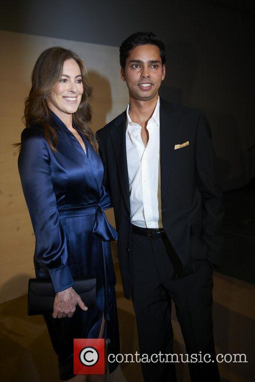 Rajendra Roy and Kathryn Bigelow attends the 3rd...