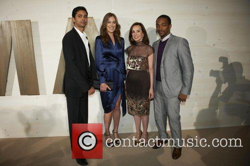 Kathryn Bigelow and Anthony Mackie 4