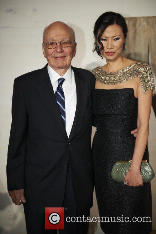 Rupert Murdoch and Kathryn Bigelow 2