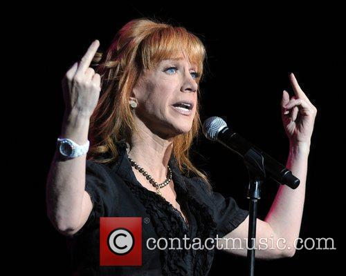 Actress and Comedien Kathy Griffin performs at 'Hard...