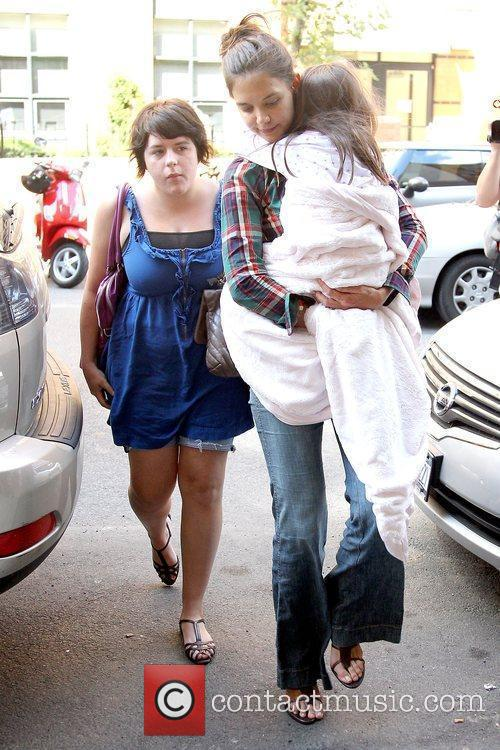 Isabella Cruise and Katie Holmes 6