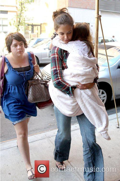 Isabella Cruise and Katie Holmes 11