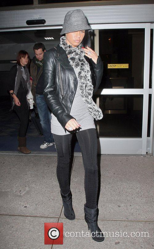 Actress/Model Katie Price  with her boyfriend Alex...