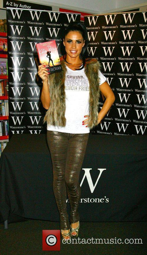 Katie Price  promoting and signing copies of...