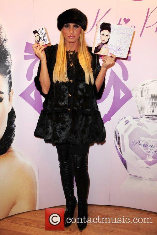 Katie Price aka Jordan  'Precious Love' perfume...