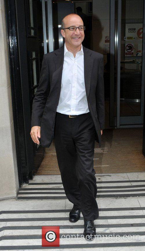 Paul McKenna outside the Radio 2 building in...