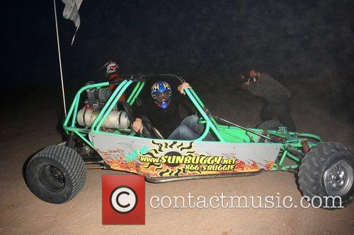 Alex Reid Gets Out Of The Dune Buggy 2