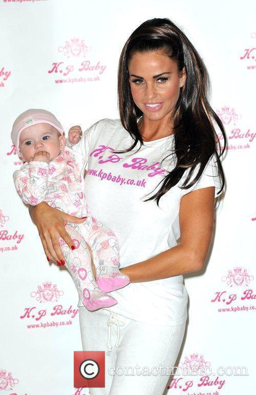Katie Price launches her new babywear range, KP...