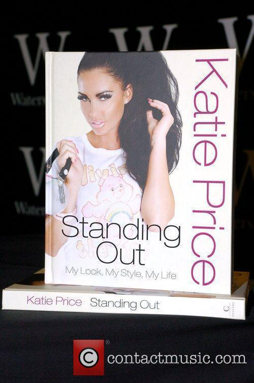 The book cover of 'Standing Out' by Katie...