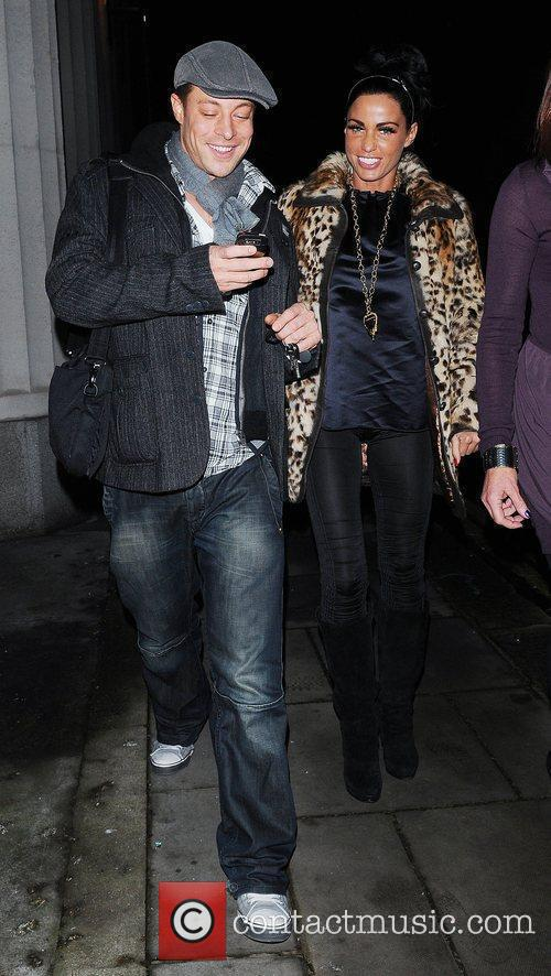 Katie Price, Aka Jordan and Enjoying A Night Out With Duncan James 8
