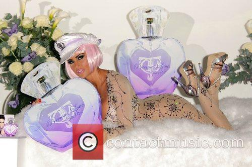 Katie Price launches her new fragrance 'Precious Love'...