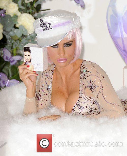 Katie Price aka Jordan launches her new perfume...