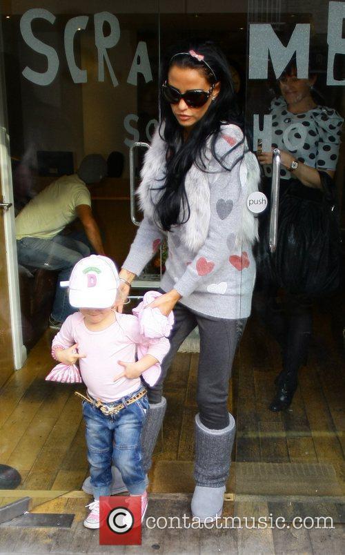 Katie Price, Princess Tiaamii Katie Price with children...