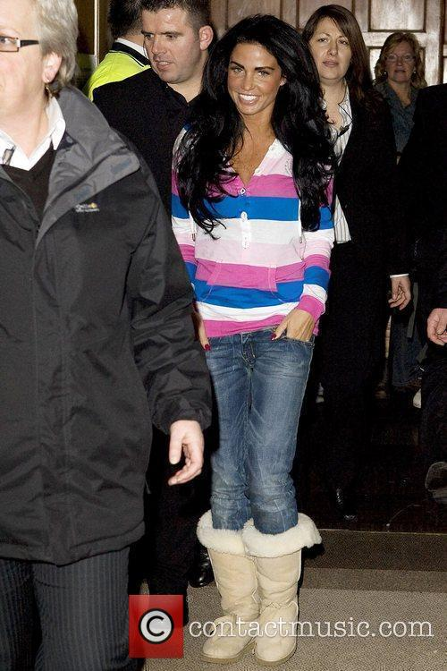 Katie Price, aka Jordan and arriving at Olympia for The London International Horse Show 5