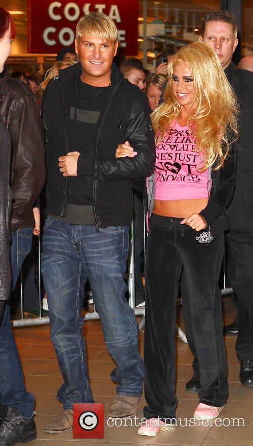 Katie Price aka Jordan and Gary Cockerill Katie...