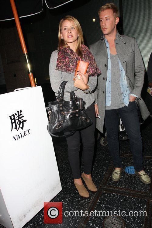 Lo Bosworth aka Lauren Bosworth at Katsuya restaurant...