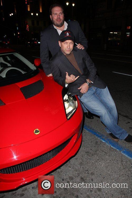 Stephen Baldwin at Katsuya restaurant Hollywood, California