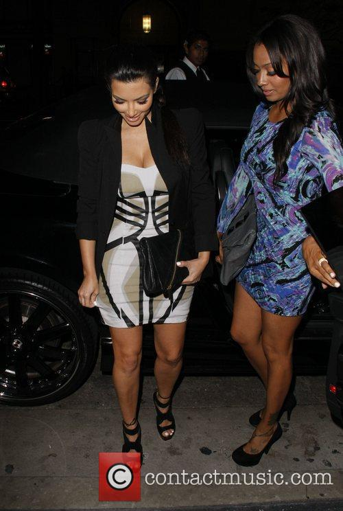 Kim Kardashian and Lala Vasquez 4
