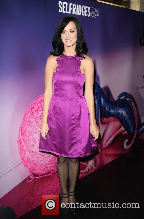 Katy Perry launches her perfume 'Purr' at Selfridges
