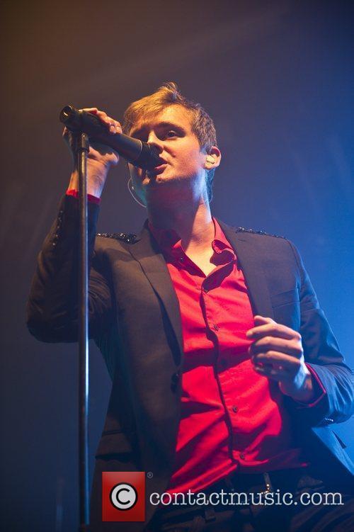 Keane performing live at the Fridge