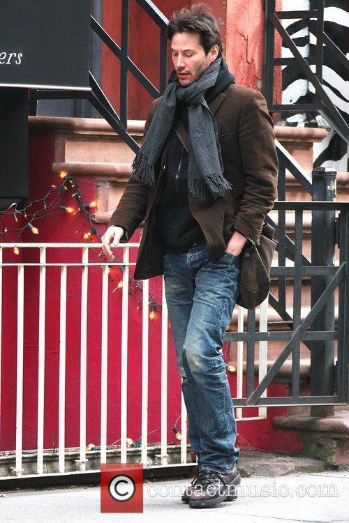 Keanu Reeves out and about in Manhattan's SoHo...