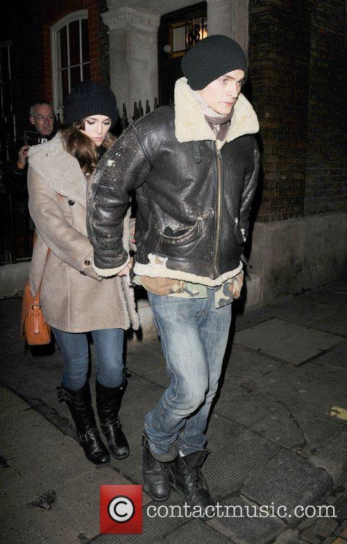 Keira Knightley and Boyfriend Rupert Friend 2