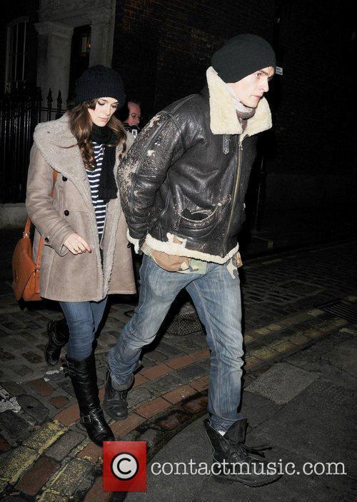Keira Knightley and Boyfriend Rupert Friend 1
