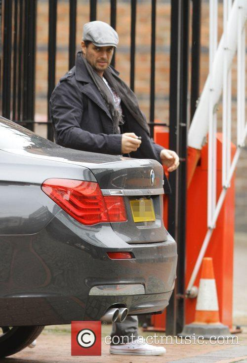 Keith Duffy out and about in Manchester Manchester,...