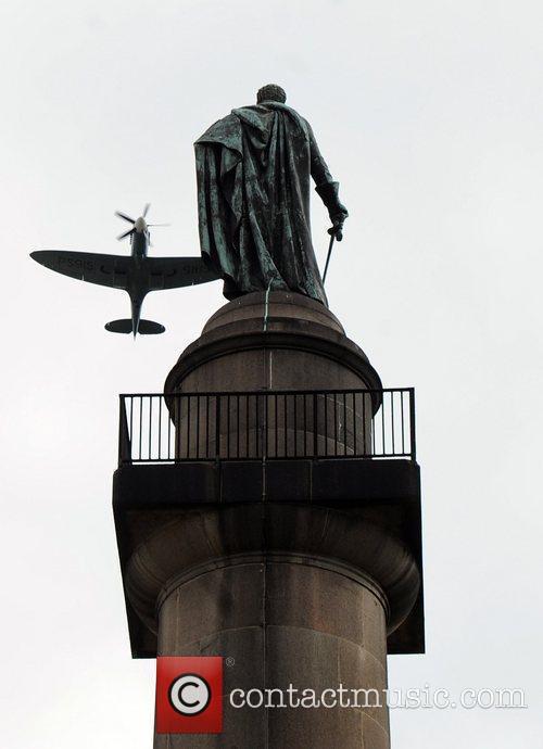 Atmosphere Sir Keith Park memorial unveiling held at...