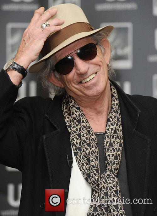 Keith Richards 36