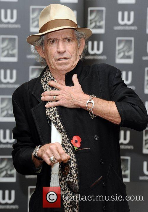 Keith Richards 30