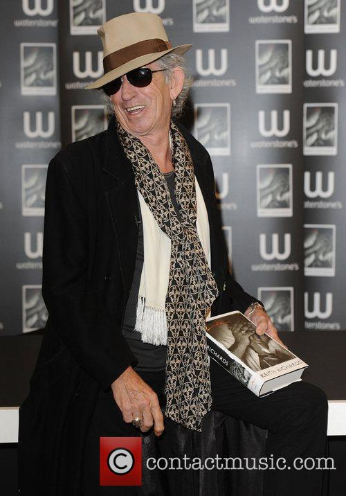 Keith Richards 50