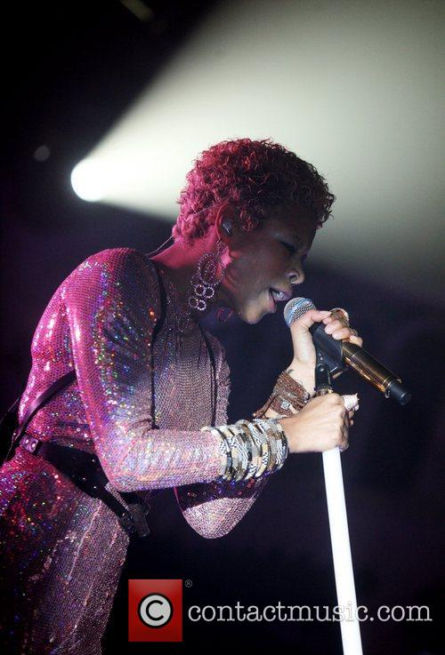 Kelis performs live at Paradiso Amsterdam, The Netherlands