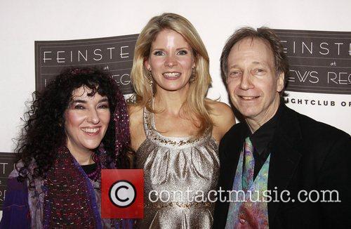 Barbara Siegel, Kelli O'Hara and Scott Siegel Opening...