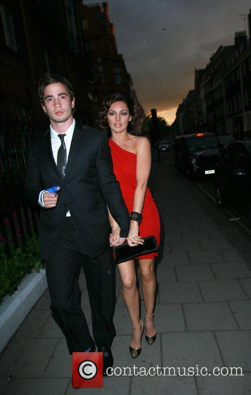 Danny Cipriani and Kelly Brook 2
