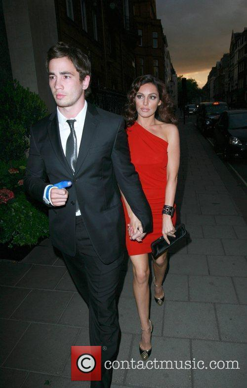 Danny Cipriani and Kelly Brook 3