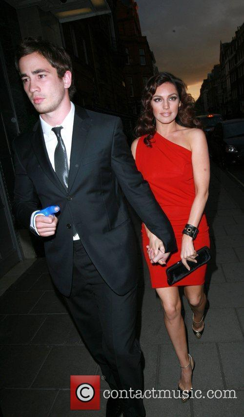 Danny Cipriani and Kelly Brook 1
