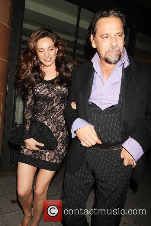 Kelly Brook leaves Cipriani restaurant in Mayfair with...