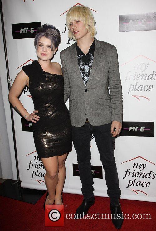 Kelly Osbourne and Luke Worrell  Charity Clothing...