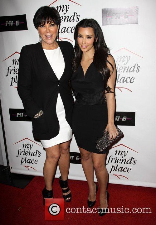 Kris Jenner and Kim Kardashian Charity Clothing Drive...