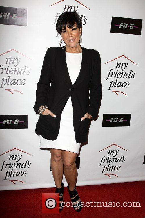 Kris Jenner Charity Clothing Drive Benefiting My Friend's...