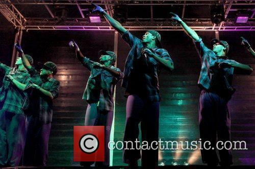 Diversity performing live at Kempton Park Racecourse as...