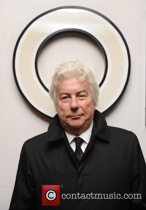 Ken Follett at a book signing for 'Fall...