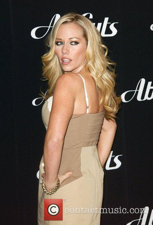 Kendra Wilkinson attends an in-store signing for Ab...