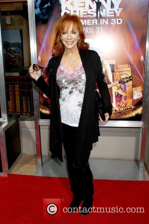 Reba McEntire Premiere of Kenny Chesney's Summer in...