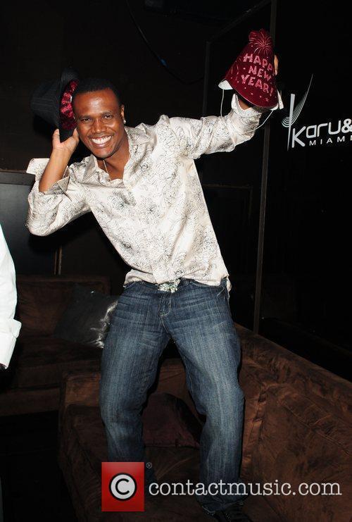 Kevin Lyttle at Karu&Y night club to celebrate...