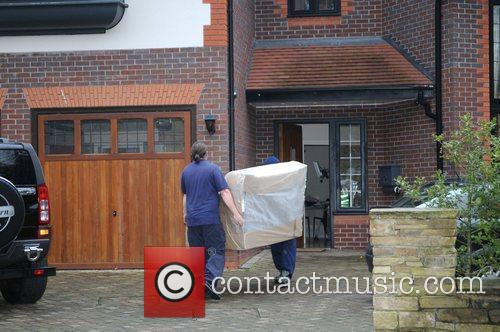 A new sofa is delivered to the home...